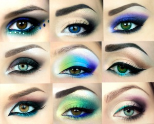 advanced eye make up winged eye liner