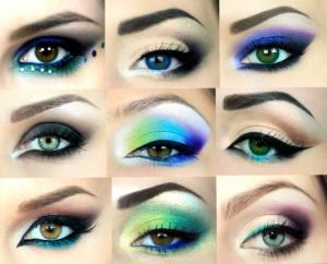 advanced eye make up winged eye liner