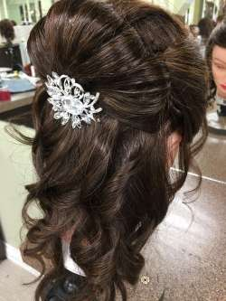 party & bridal hair up do