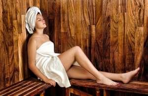 Woman In Spa Getting Ready for Brazilian Waxing